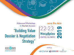 """Advanced Workshop in Market Access """"Building Value Dossier & Negotiation Strategy"""""""